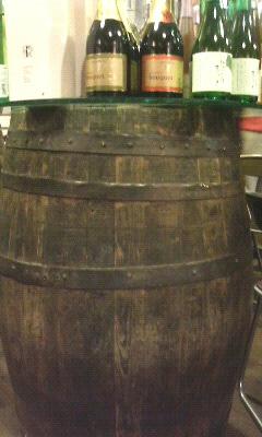 国産ワイン樽