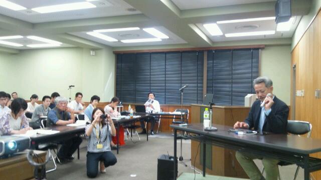 誰が日本の森を救うのかセミナー