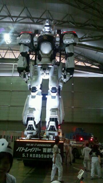 巨大ロボットを見てきた