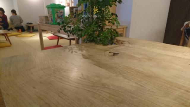 テーブルの秘密
