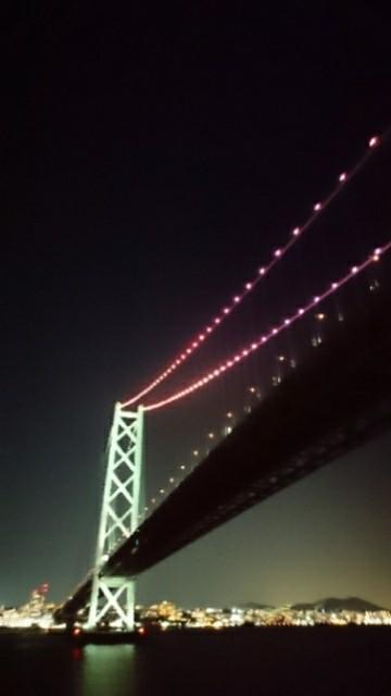 明石橋、通過