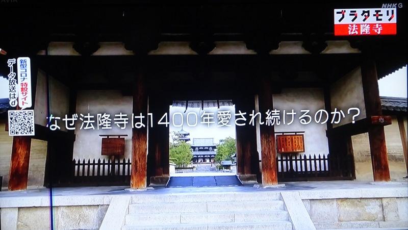 法隆寺 ブラタモリ
